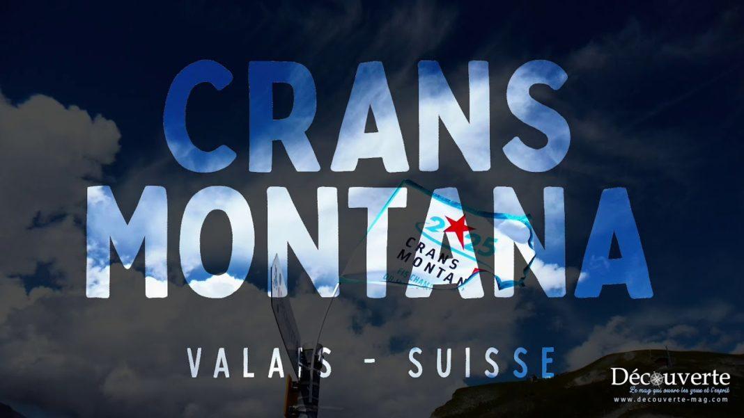 Crans Montana, dans le Valais Suisse, est une station de ski au pied du glacier de la Plaine Morte.