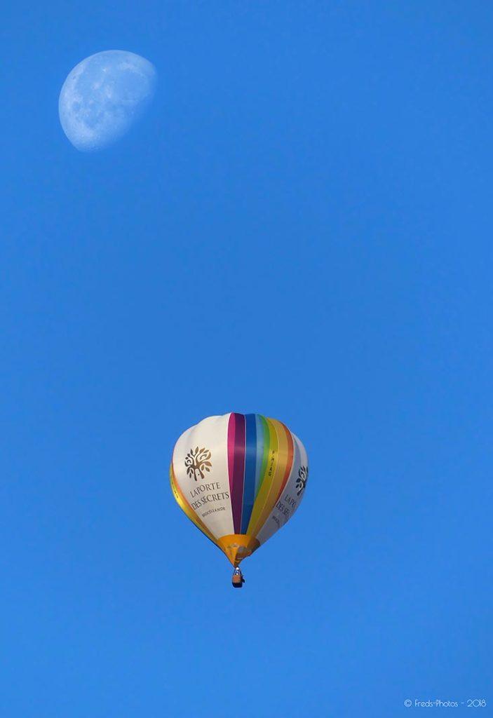 La lune photographiée par Pascal Frédéric pour le magazine Découverte.