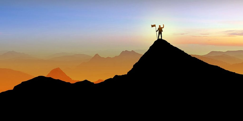 Entreprendre, c'est gravir et déplacer des montagnes.
