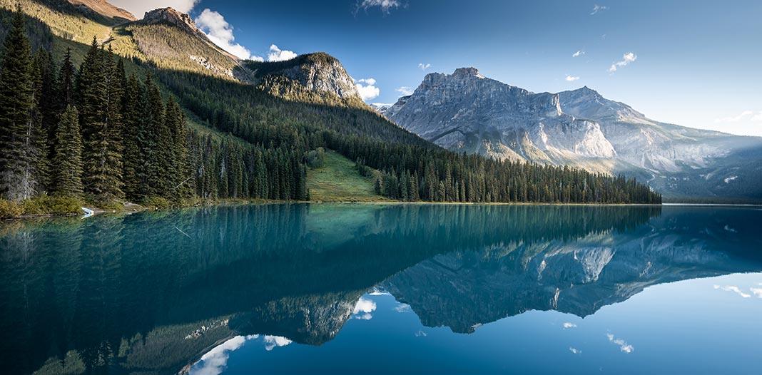 Magnifique paysage du Canada sur Découverte magazine