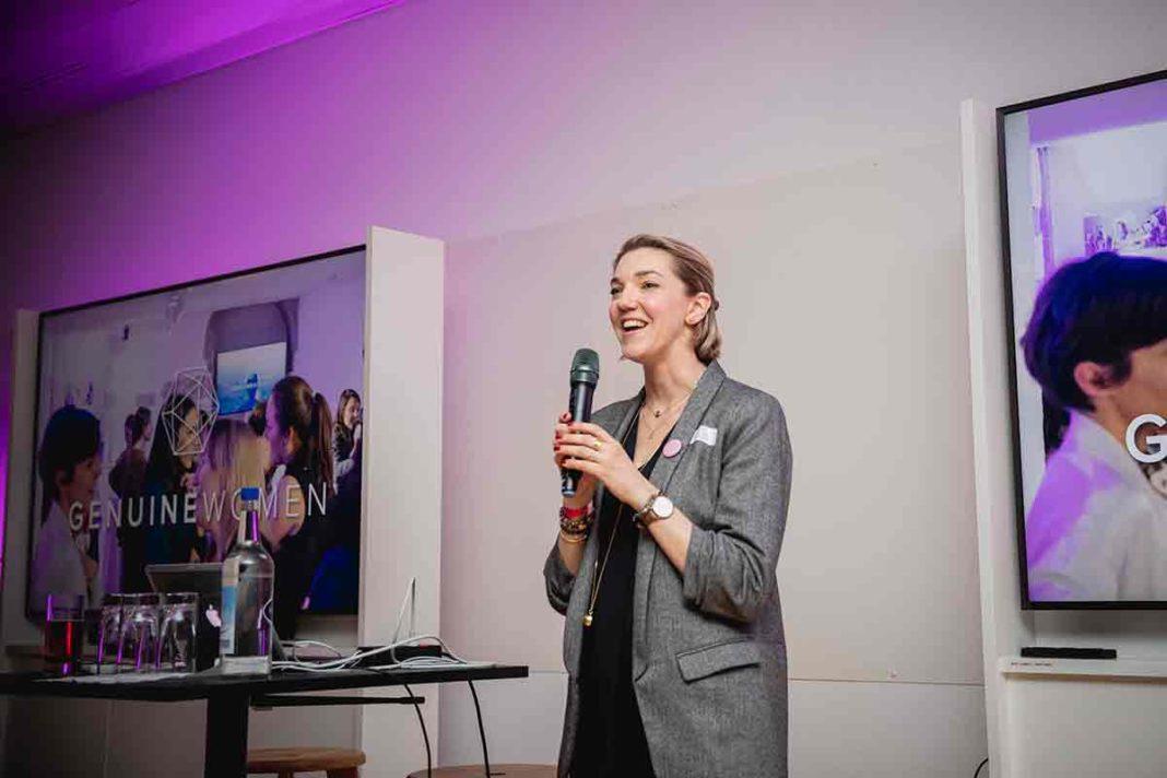 Emilie Hawlena, fondatrice des Genuine women, réseau de femmes entrepreneures en Suisse.