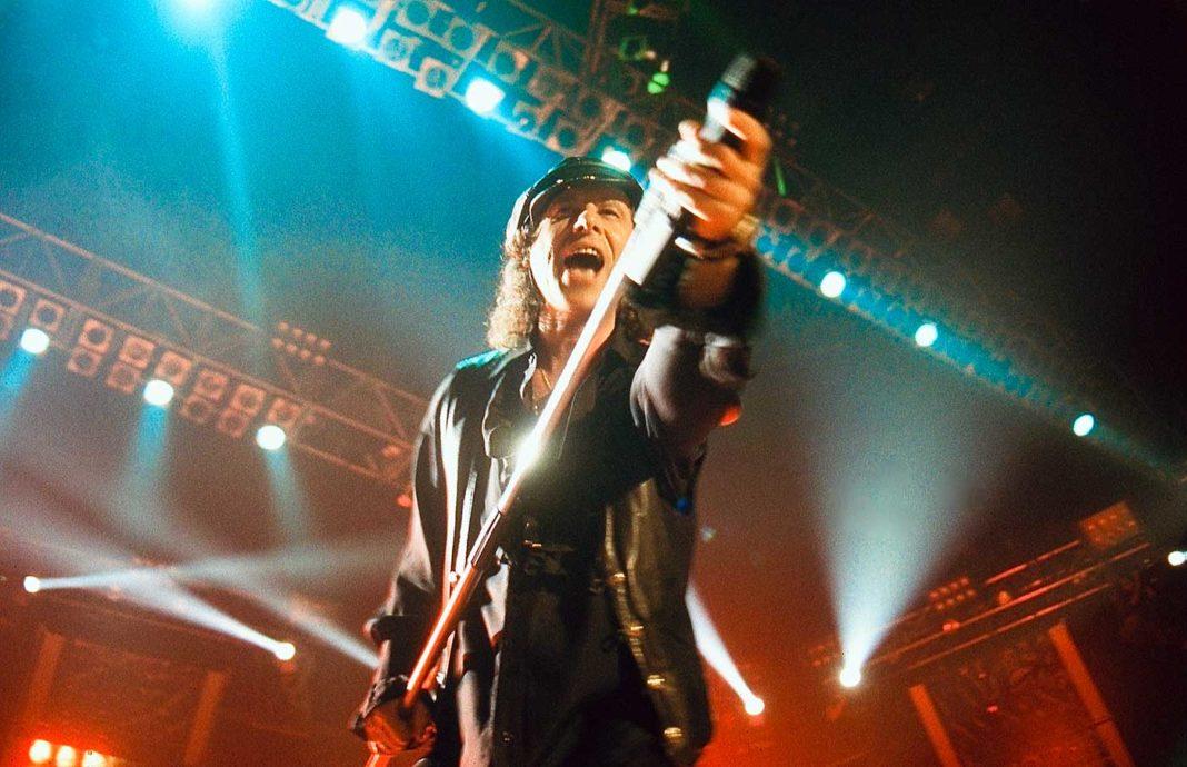 Klaus Meine, chanteur du groupe Scorpions. Photo par Nicolas Kontos.