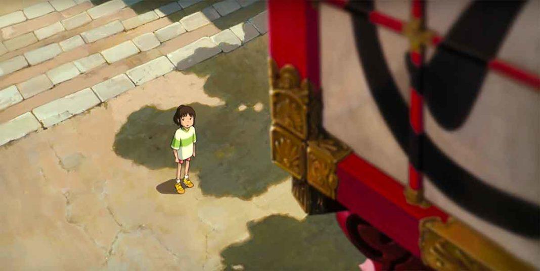 Le voyage de Chihiro, cinéma en open air à Vevey (VD) organisé par Cinérive.